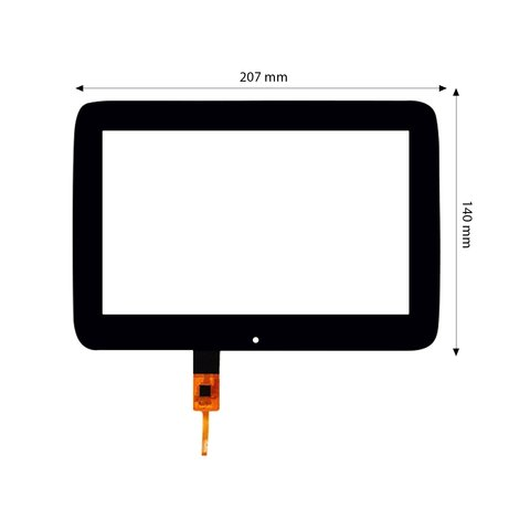 "8"" Capacitive Touch Screen for Mercedes-Benz GLE, GLS"