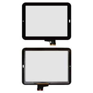 Touchscreen for HP TouchPad Tablet, (black)