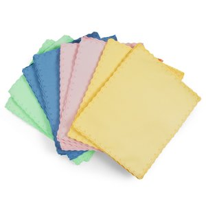 Microfiber Cloth, (for dust and fingerprints removing, 50 pcs, 140*170 mm)