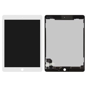 LCD for Apple iPad Air 2 Tablet, (white, with touchscreen, Original (PRC))