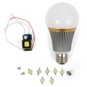 LED Light Bulb DIY Kit SQ-Q23 7 W (natural white, E27)