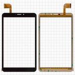 "Touchscreen China-Tablet PC 7""; Bravis NB85 3G; Pixus Touch 8 3G, (7,85"", 204 mm, 120 mm, 51 pin, capacitive, black) #FPCA-80A15-V01/HK80DR2840/FPCA-80A15-V02/ZC 1452/FPC-FC80J196-00"