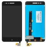 LCD ZTE Blade A610, (black, with touchscreen, Original (PRC))