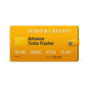 Créditos de red Advance Turbo Flasher