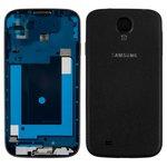Carcasa Samsung I9500 Galaxy S4, negro, Black Edition