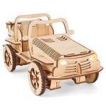 """Juego de construcción EcoBot """"Automóvil Buggy"""" controlado por Bluetooth"""