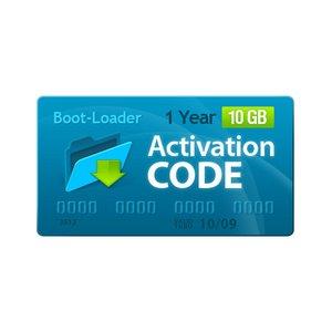 Активационный код Boot-Loader v2.0 (1 год, 10+1 ГБ)
