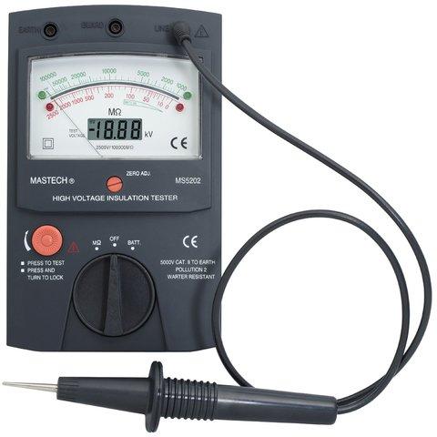 Аналого цифровий вимірювач опору ізоляції MASTECH MS5202