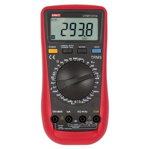 Цифровий мультиметр UNI T UTM 1151G UT151G