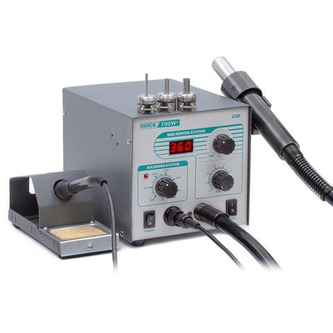 Термоповітряна паяльна станція QUICK 706W+ ESD